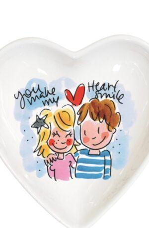 . HEART BOWL 16,5 CM BLUE €9,95