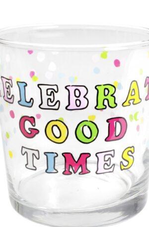 GLASS CELEBRATE GOOD TIMES 35 CL €4,95