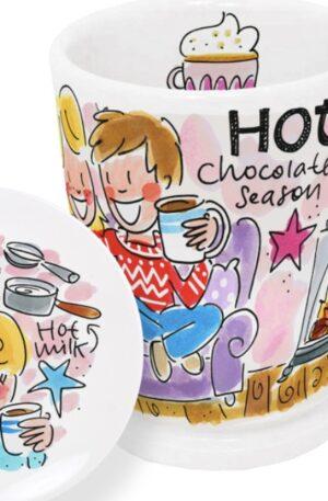 . CHOCOLATE: SET MAZAGRAN HOT CHOC. ROZE €14,95