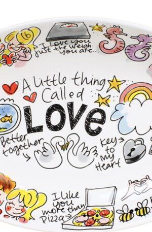 LOVE: OVAL BOWL 28,5 CM €19,95
