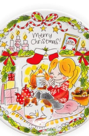CHRISTMAS 2020: PLATE GIRL 22CM €7,95